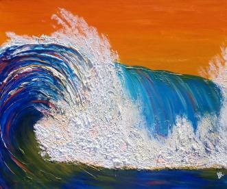 36''x30'' Acrylic on canvas