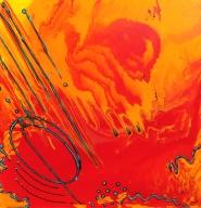 24''x24'' Acrylic on canvas