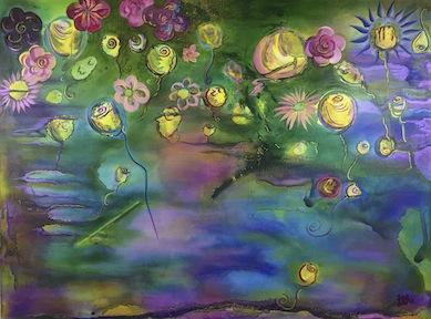 Fairy Flower Garden 40x30